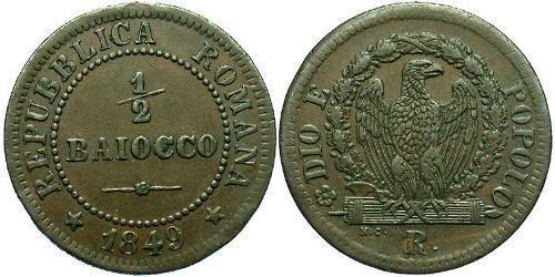0.5 Baiocco Vatican (1926-) Copper