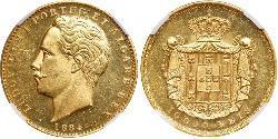 10000 Reis 葡萄牙王國 (1139 - 1910) 金 路易斯一世 (葡萄牙)