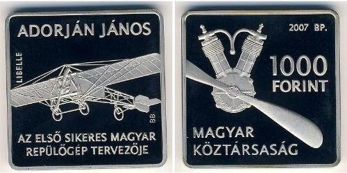 1000 Forint Hongrie (1989 - ) Cuivre/Nickel