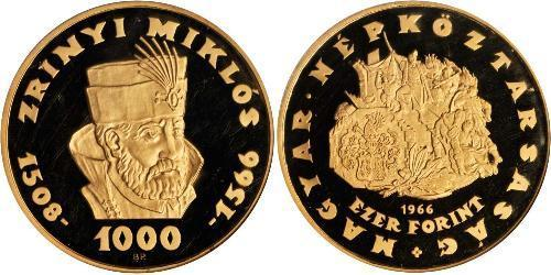 1000 Forint Hongrie Or