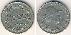 1000 Krone First Austrian Republic (1918-1934) Copper/Nickel