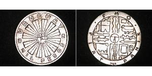 1000 Peso Uruguay Argent