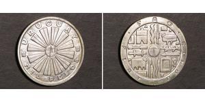 1000 Peso Uruguay Argento