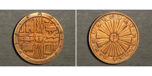 1000 Peso Uruguay Bronce