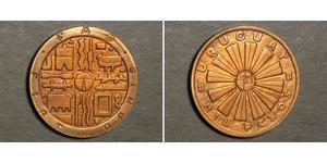 1000 Peso Uruguay Bronze