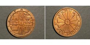 1000 Peso Uruguay Bronzo