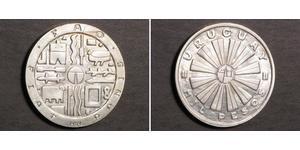 1000 Peso Uruguay Silber