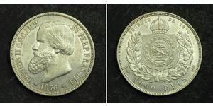 1000 Reis Brésil Argent