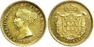 1000 Reis Kingdom of Portugal (1139-1910) Gold