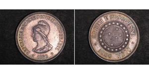 1000 Reis Brazil Silver