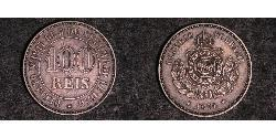 1000 Reis Brazil / Empire of Brazil (1822-1889) Silver