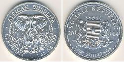 1000 Shilling Somalia Silver