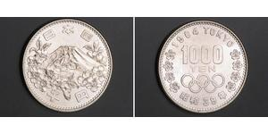 1000 Yen Giappone Argento