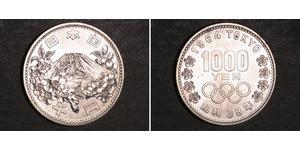 1000 Yen Japan Silber