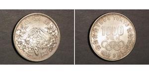 1000 Yen Japan Silver