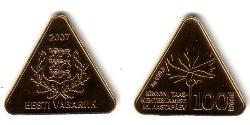 100 Крона Естонія (1991 - ) Золото