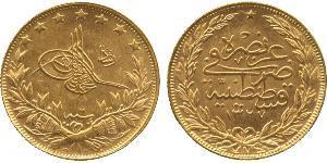 100 Куруш Османская империя (1299-1923) Золото
