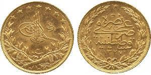 100 Куруш Османська імперія (1299-1923) Золото