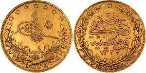 100 Пиастр Османская империя (1299-1923) Золото
