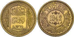 100 Франк Туніс Золото
