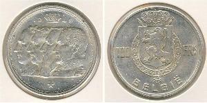 100 Франк Бельгия Серебро