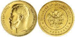 100 Франк / 37.5 Рубль Російська імперія (1720-1917) Золото Микола II (1868-1918)