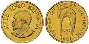 100 Шиллинг Кения Золото Кениата, Джомо