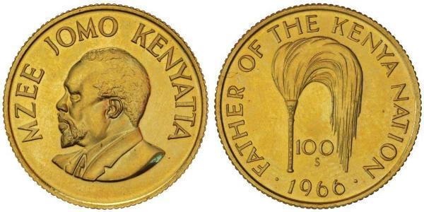100 Шилінг Кенія Золото