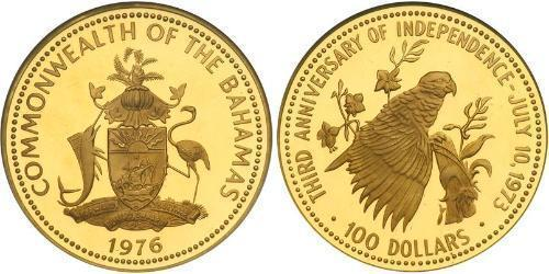 100 Dollar Bahamas 金