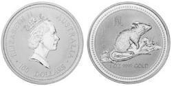 100 Dollar Australia (1939 - ) Gold Elizabeth II (1926-)