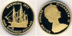 100 Dollar Bermuda Gold Elizabeth II (1926-)