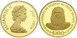 100 Dollar Fidschi Gold