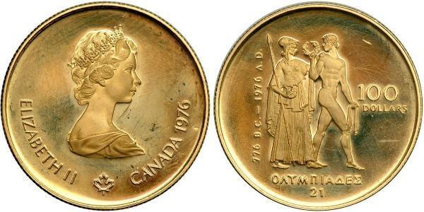 100 Dollar Kanada Gold Elizabeth II (1926-)