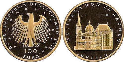 100 Euro 德国 金