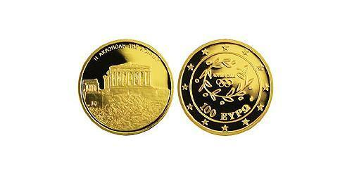 100 Euro Hellenic Republic (1974 - ) Gold