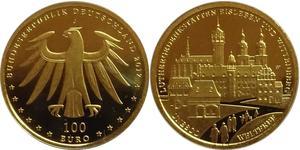 100 Euro Alemania (1990 - ) Oro