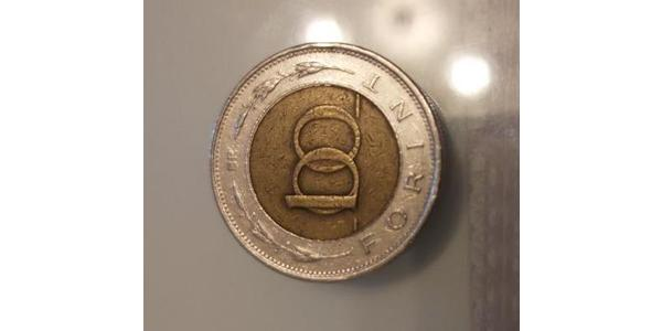 100 Forint Hungary (1989 - ) Steel/Brass