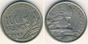 100 Franc 法兰西第四共和国 (1946 - 1958) 銅/镍