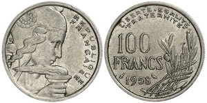 100 Franc Quatrième République (1946-1958) Cuivre/Nickel