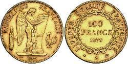 100 Franc Dritte Französische Republik (1870-1940)  Gold