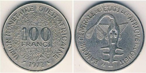 100 Franc African Union Nickel