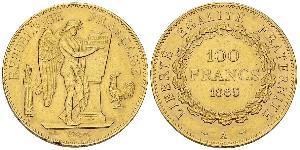 100 Franc Première République française  (1792-1804) Or