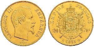 100 Franc Segundo Imperio francés (1852-1870) Oro Napoleon III (1808-1873)