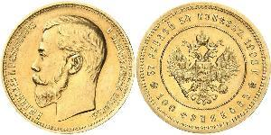 100 Franc / 37.5 Ruble Russian Empire (1720-1917) Gold Nicholas II (1868-1918)