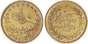 100 Kurush Ottoman Empire (1299-1923) Gold