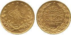 100 Kurush Empire ottoman (1299-1923) Or