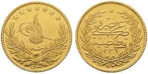 100 Kurush Impero ottomano (1299-1923) Oro