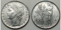 100 Lira Italia Acero