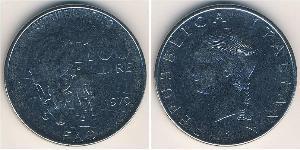 100 Lira Italien Kupfer/Nickel