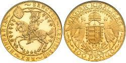 100 Pengo Ungarn (1989 - ) Gold